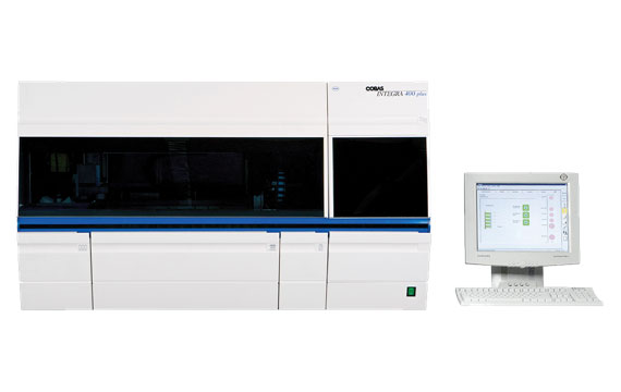 Cobas Integra 400 plus automated chemistry analyzer