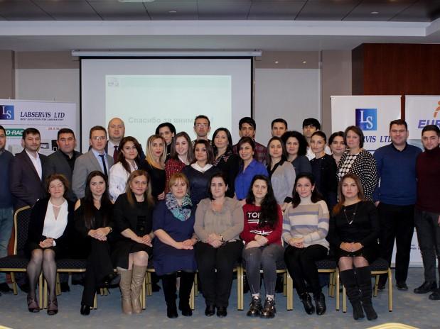 LABSERVIS LTD şirkəti tərəfindən Bio-Rad Laboratories (ABŞ) şirkətinin informasiya dəstəyi ilə seminar keçirilib